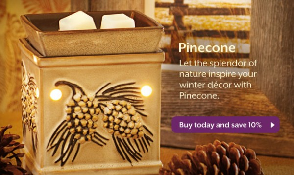 Scentsy Pinecone