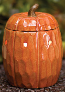 Scentsy Pumpkin Warmer and Caramel Pear Crisp Scent of the Month - Buy ...
