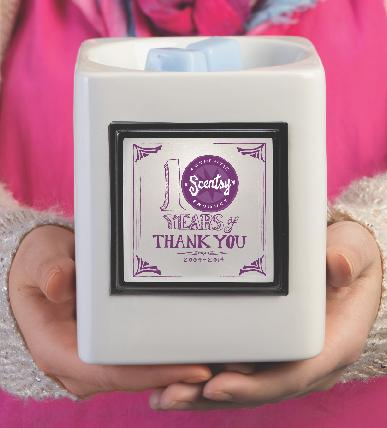 Scentsy Custom Warmer and Thank You Scent | Buy Scentsy Canada Online