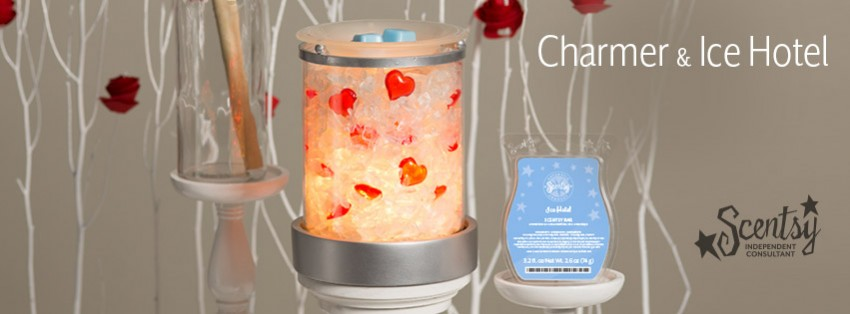 Scentsy Charmer Warmer, Ice Hotel