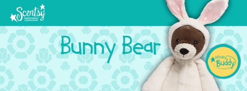 Scentsy Bunny Bear