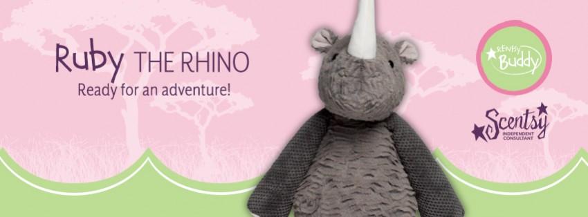 Scentsy Ruby Rhino