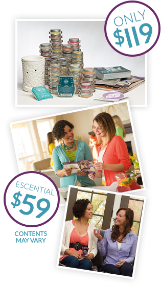 Join Scentsy starter kit