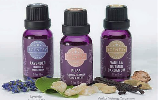 scentsy Essential oils