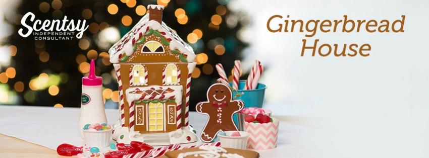 Scentsy Gingerbread house