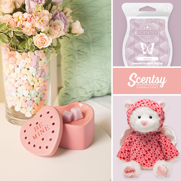 Scentsy Be Mine Scentsy Warmer