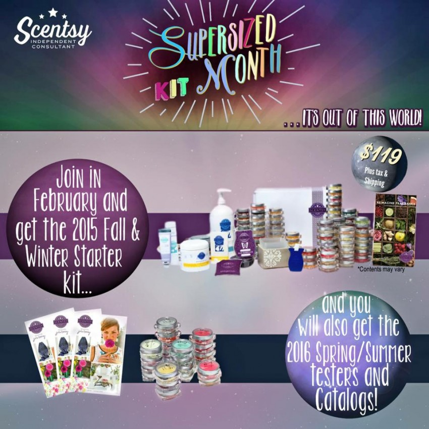 Join Scentsy February