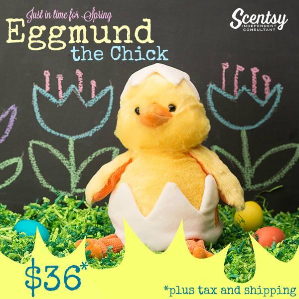 eggmund scentsy buddy