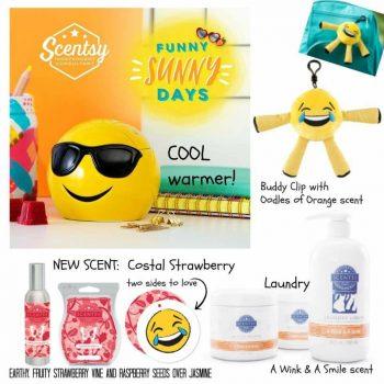 Scentsy Funny Sunny Days